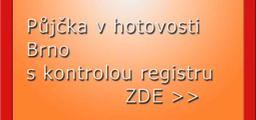 Půjčka v hotovosti Brno s kontrolou registru